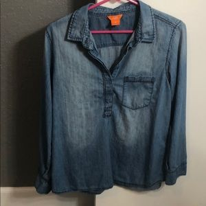Chambray Jean Blouse